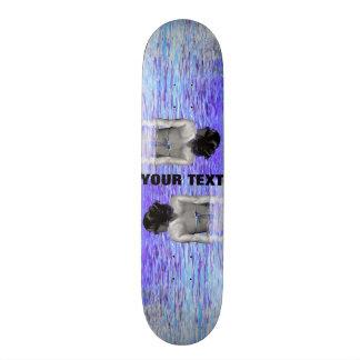 ~Cool Water~ SKATE DECK, CUSTOMIZE IT! 21.3 Cm Mini Skateboard Deck