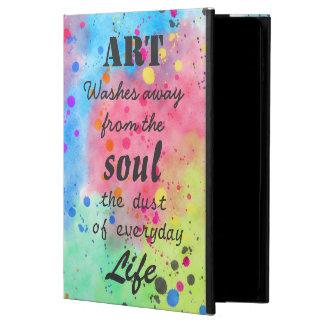Cool watercolour famous quote powis iPad air 2 case