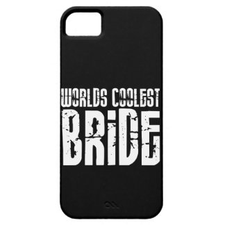 Cool Weddings Bridal Showers Worlds Coolest Bride iPhone 5 Case