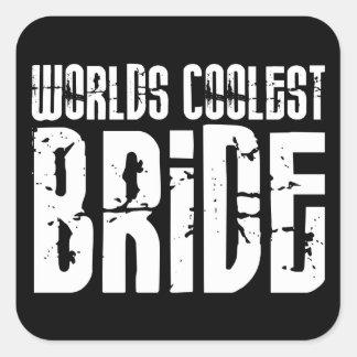 Cool Weddings Bridal Showers Worlds Coolest Bride Sticker