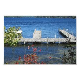 Cool Weirs Beach Dock Art Photo