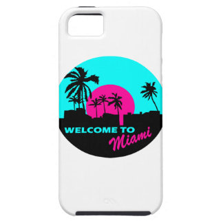 Cool Welcome to Miami design iPhone 5 Cases