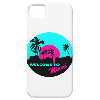 Cool Welcome to Miami design iPhone 5 Case