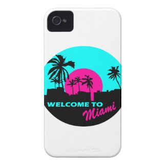 Cool Welcome to Miami design iPhone 4 Cover