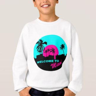 Cool Welcome to Miami design Sweatshirt