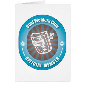 Cool Welders Club Greeting Card