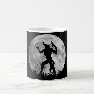 Cool Werewolf Full Moon Transformation Coffee Mug