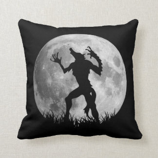 Cool Werewolf Full Moon Transformation Cushion