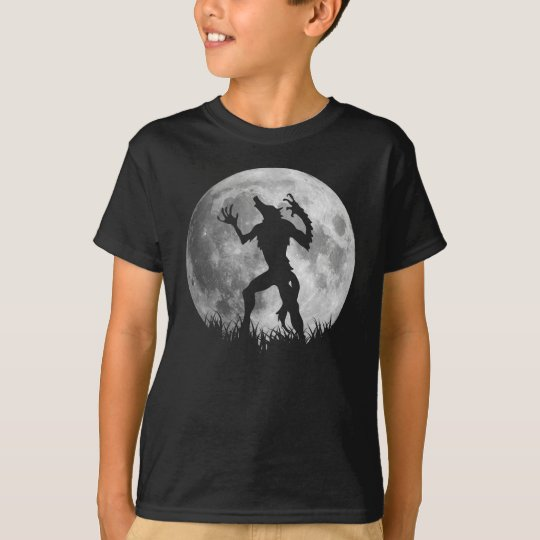Cool Werewolf Full Moon Transformation T-Shirt