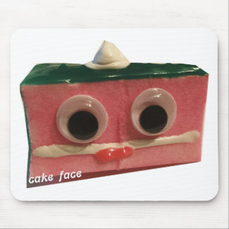 cool whip cake face logo mouse pad