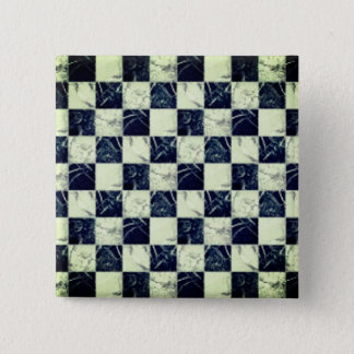Cool white and black marble stone texture button