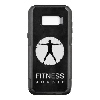 Cool White Body Madness Health And Fitness Junkie OtterBox Commuter Samsung Galaxy S8+ Case