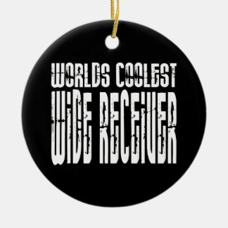 Cool Wide Receivers : Worlds Coolest Wide Receiver Christmas Ornament