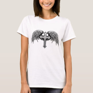 Cool_Winged_Cross T-Shirt