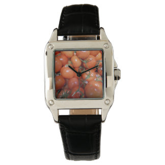 "Cool woman's perfect square ""Tomato"" watch"