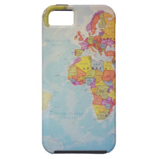 Cool World Map Case For The iPhone 5