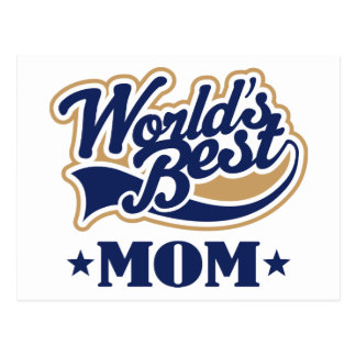 Cool World s Best Mom Gift Post Cards