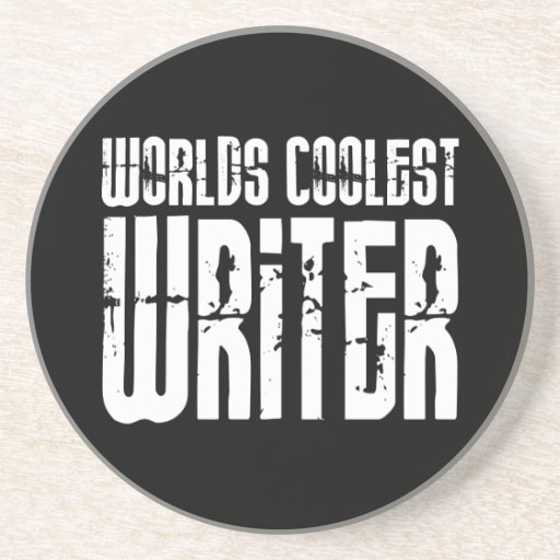 Cool Writers : Worlds Coolest Writer Drink Coaster