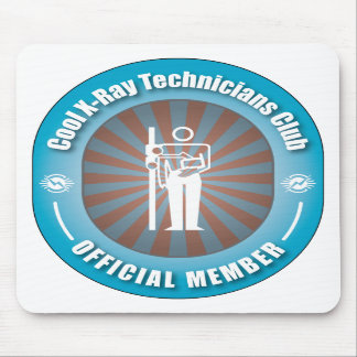 Cool X-Ray Technicians Club Mouse Mats