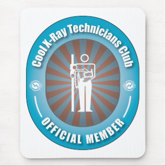 Cool X-Ray Technicians Club Mouse Pad