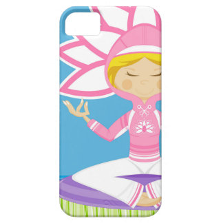 Cool Yoga Girl iPhone 5/5S Cases