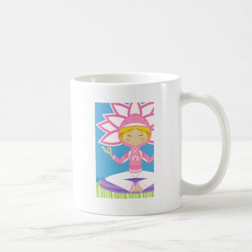 Cool Yoga Girl Coffee Mug