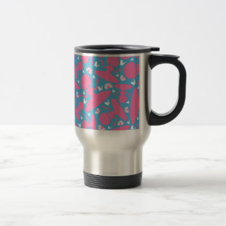 Cool Yoga Girl Pattern Coffee Mug