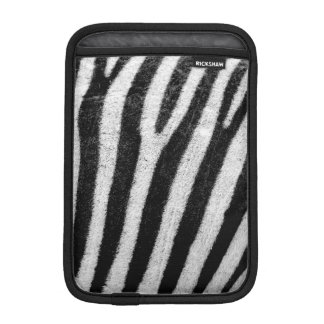 Cool Zebra Abstract, iPad Mini Vertical Sleeve