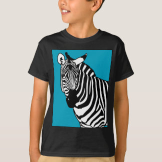 Cool Zebra Animal T-Shirt