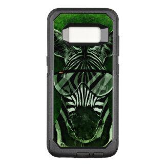 Cool zebra on Samsung Galaxy s8 otterbox case