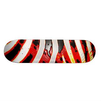 Cool Zebra Print 21.6 Cm Skateboard Deck