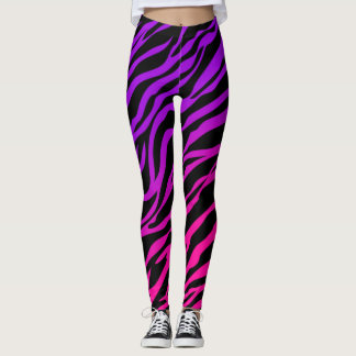 Cool Zebra Print Leggings