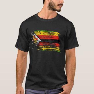 Cool Zimbabwean flag design T-Shirt