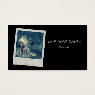 Cool Zombie Girl Business Card