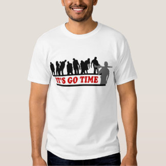 Cool ZOMBIES It's go time design T Shirt