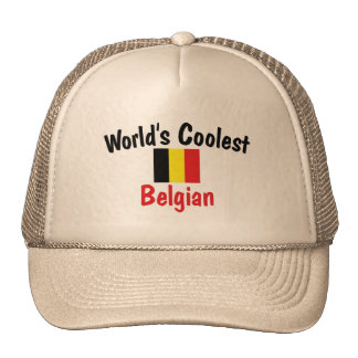 Coolest Belgian Trucker Hats