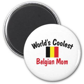Coolest Belgian Mom Magnets