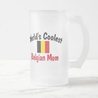 Coolest Belgian Mom Coffee Mugs