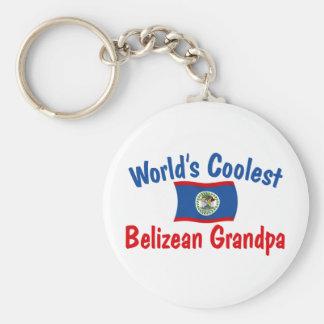 Coolest Belizean Grandpa Key Chain