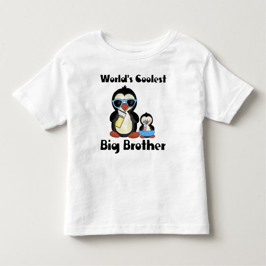 Coolest big brother penguin toddler T-Shirt