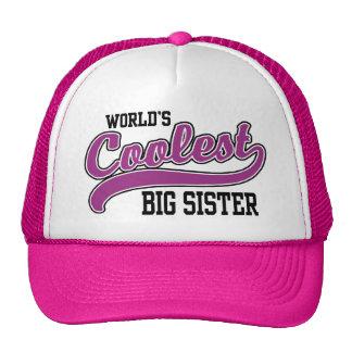 Coolest Big Sister Cap