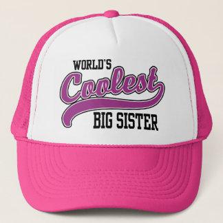 Coolest Big Sister Trucker Hat