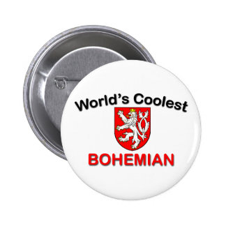 Coolest Bohemian 6 Cm Round Badge