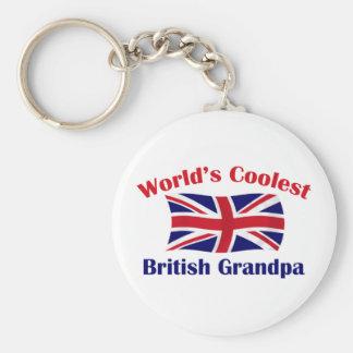 Coolest British Grandpa Keychains