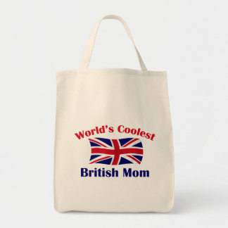 Coolest British Mom Canvas Bags