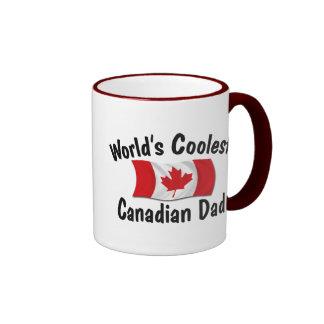 Coolest Canadian Dad Ringer Mug