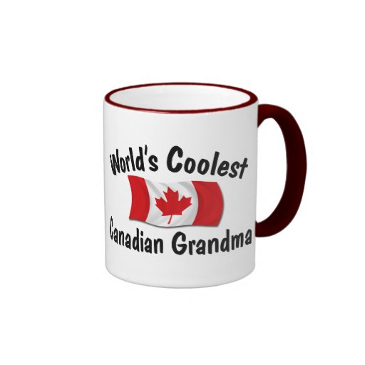 Coolest Canadian Grandma Coffee Mug