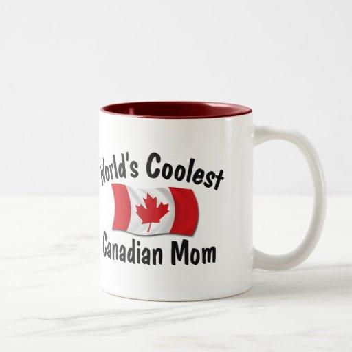 Coolest Canadian Mom Mug
