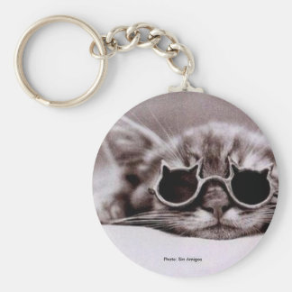 Coolest Cat alive Keychain