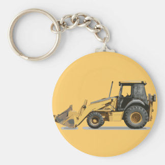 Coolest Construction Excavator Digger Key Ring